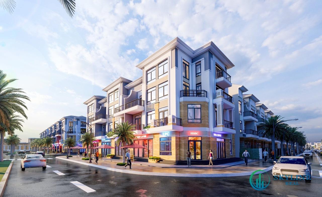 Shophouse mẫu tại dự án STC Long Thành Đồng Nai