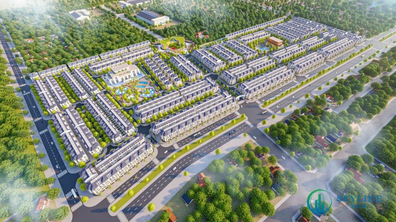 Phối cảnh tổng thể dự án khu đô thị STC Long Thành
