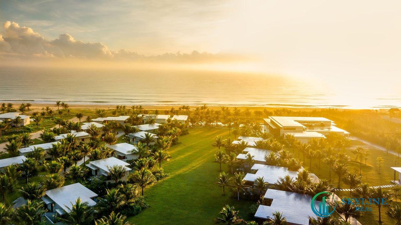 Maia Resort Quy Nhơn ở sát biển và có các tiện ích chăm sóc sức khoẻ từ CĐT nên rất thích hợp cho gia đình nghỉ dưỡng