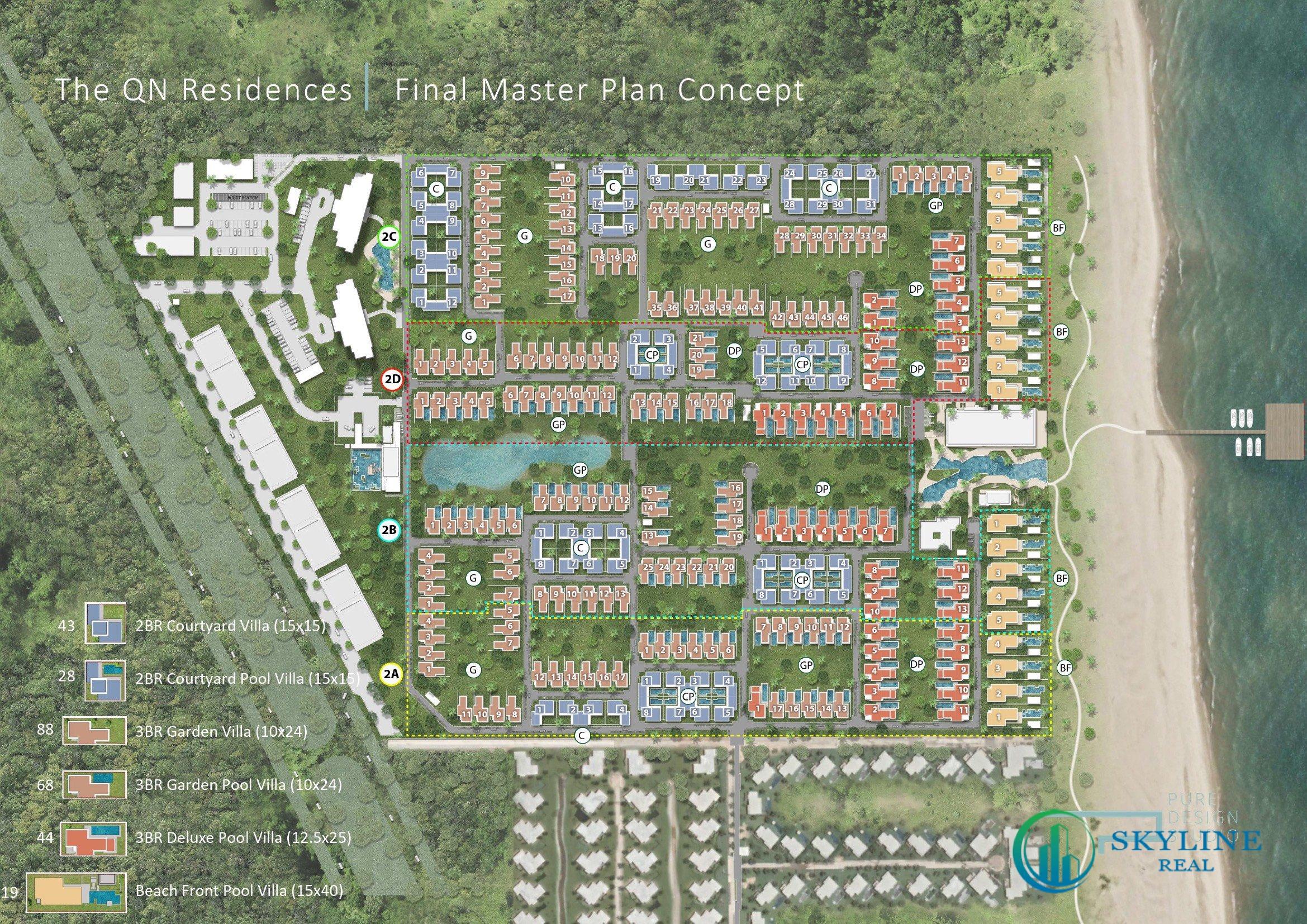 Mặt bằng tổng quan dự án Maia Resort