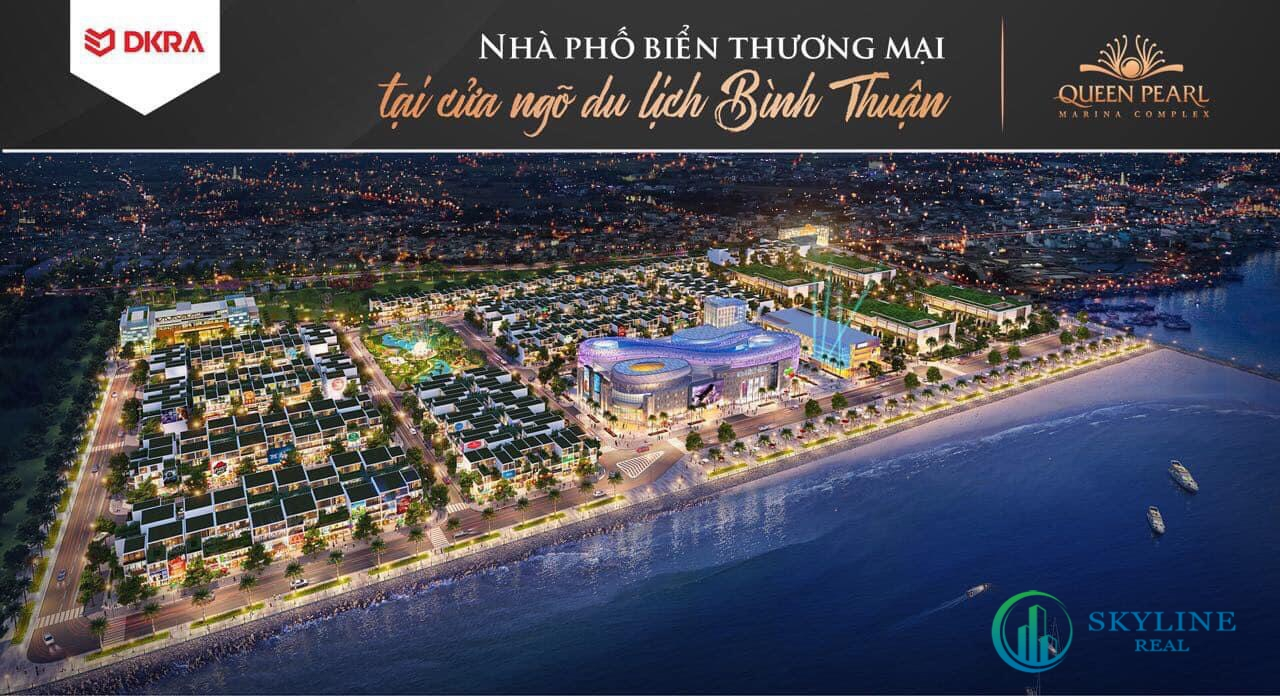 Phối cảnh dự án Queen Pearl Marina
