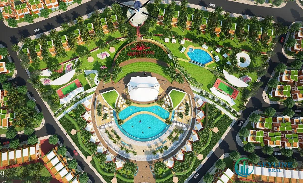 Tiện ích nổi bật dự án Queen Pearl Marina