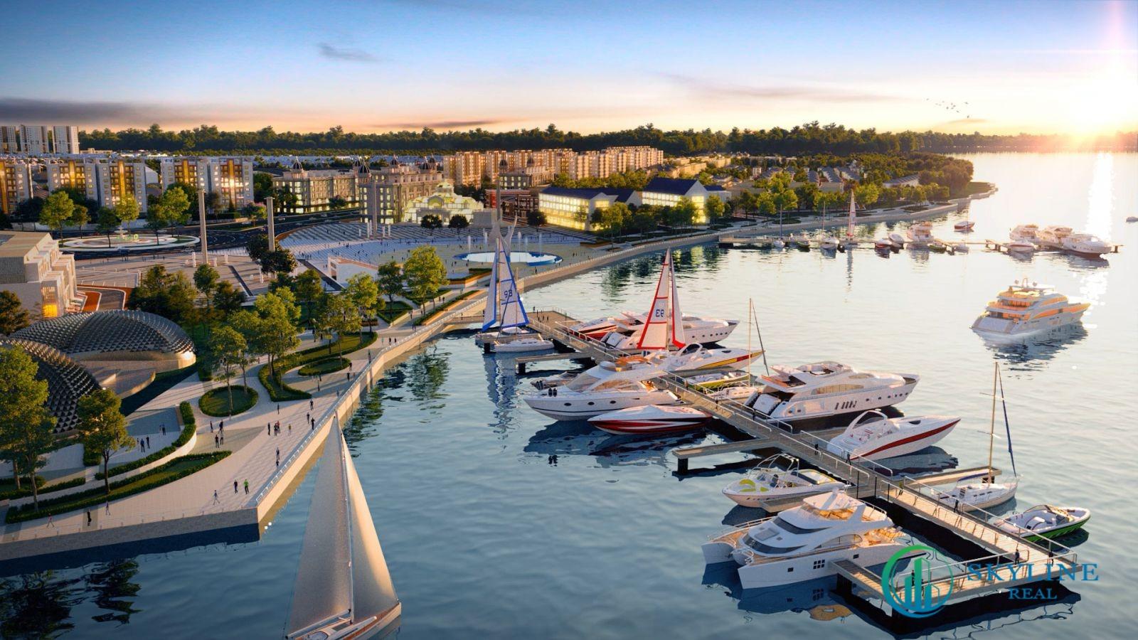 Tổ hợp Quảng trường - Bến du thuyền Aqua Marina là điểm nhấn tiện ích thỏa mãn cả yêu cầu về thẩm mỹ lẫn lối sống đỉnh cao của cư dân và du khách thượng lưu.