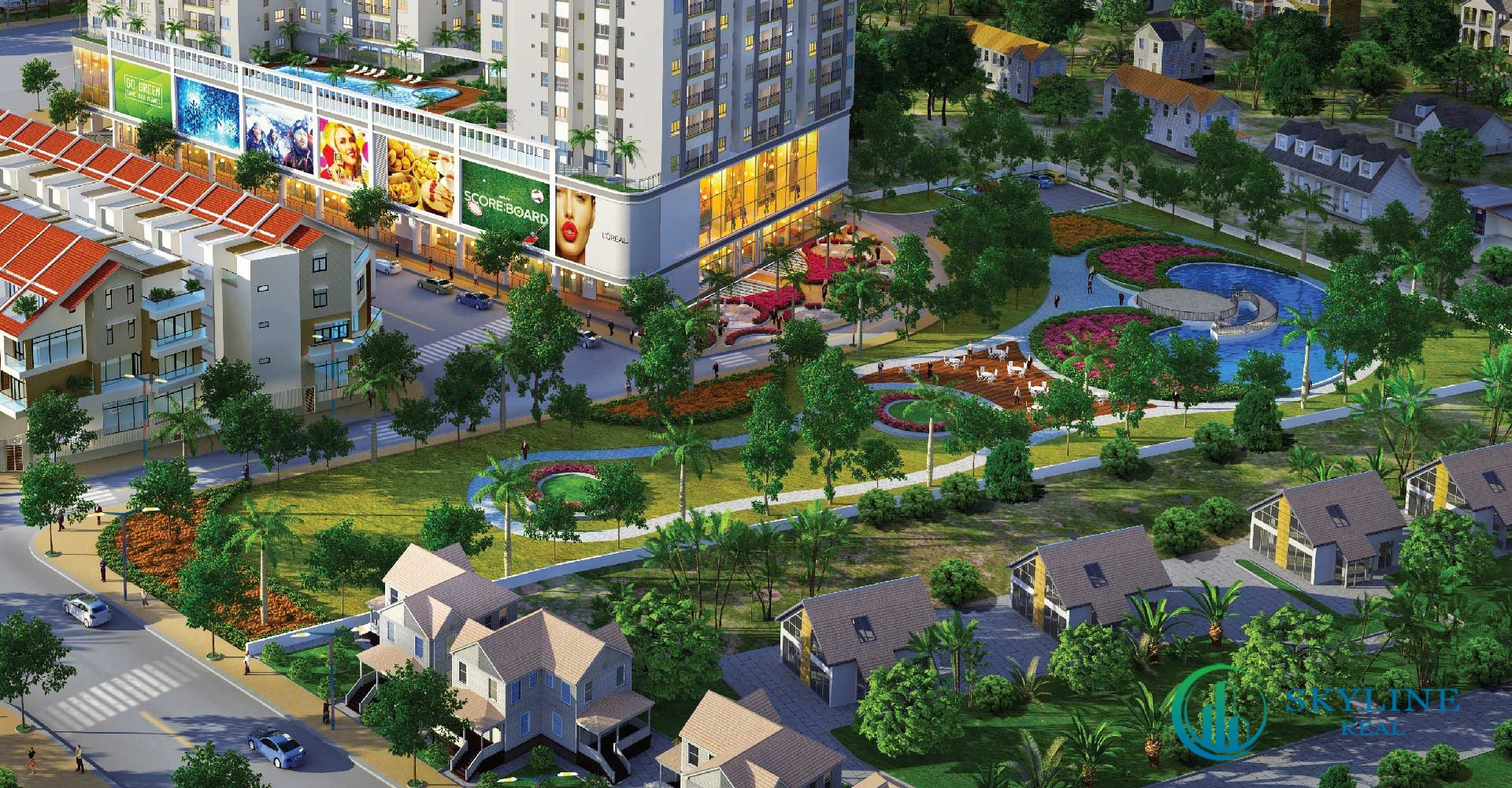Những căn hộ có mảng xanh luôn là ưu tiên hàng đầu của đa số khách hàng tìm nơi an cư