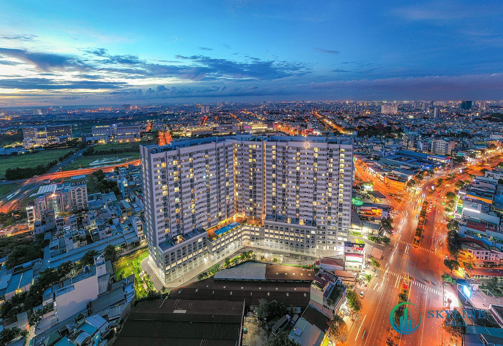 Phối cảnh tổng thể dự án căn hộ Moonlight Centre Point chủ đầu tư Hưng Thịnh
