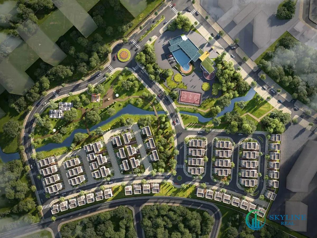 Mặt bằng chi tiết dự án nhà phố, biệt thự Senturia An Phú