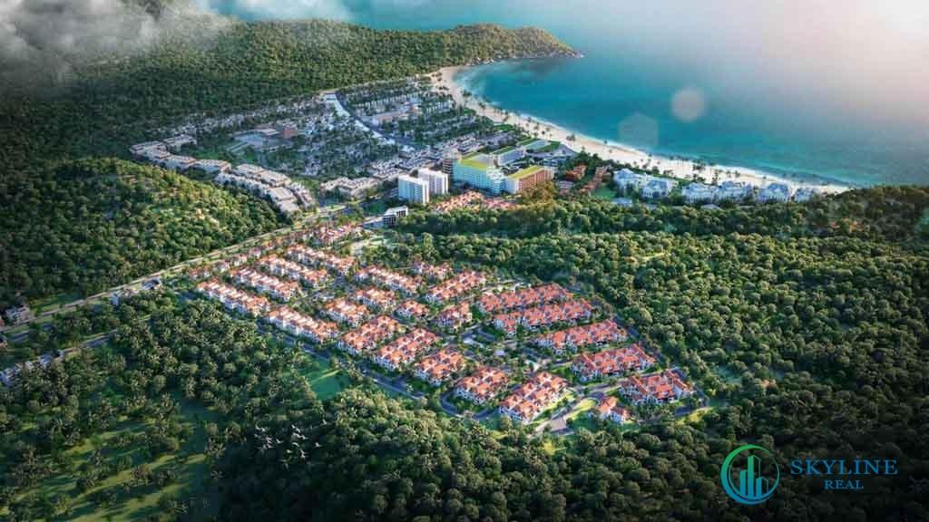 Phối cảnh tổng thể dự án Sun Tropical Village Phú Quốc