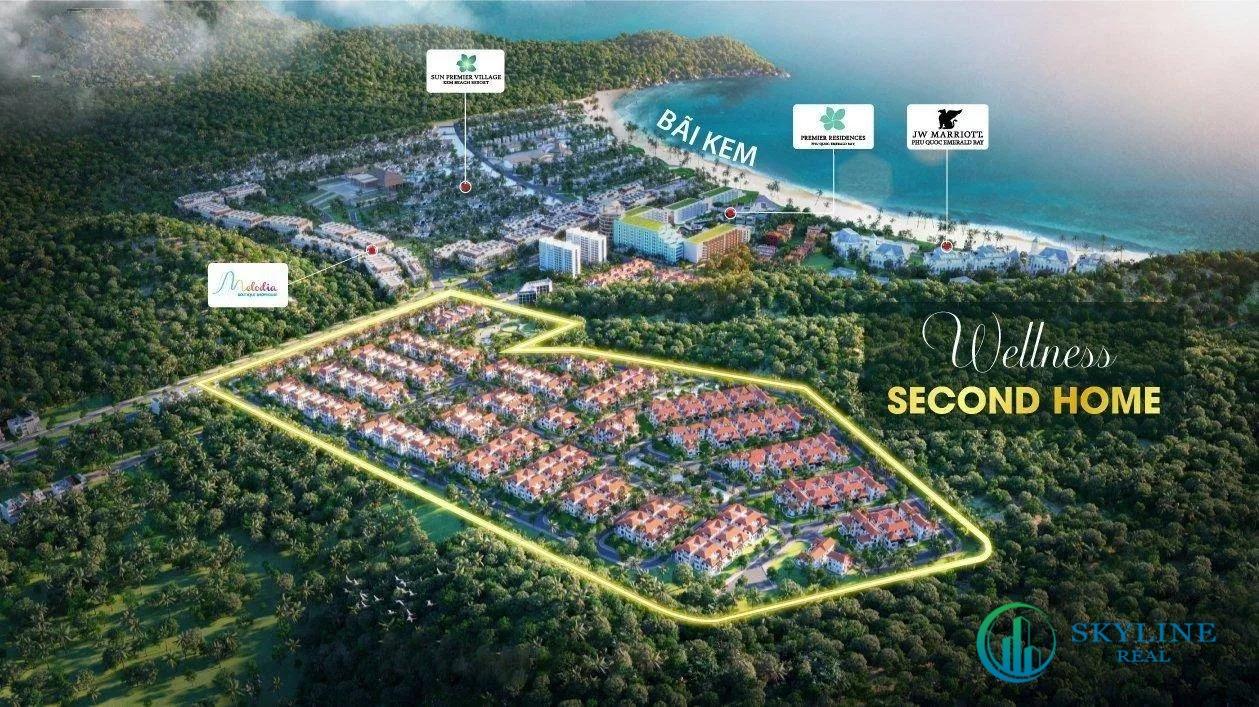 Phối cảnh dự án Sun Tropical Village