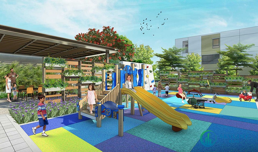 Tiện ích nội khu dự án - Khu vui chơi trẻ em