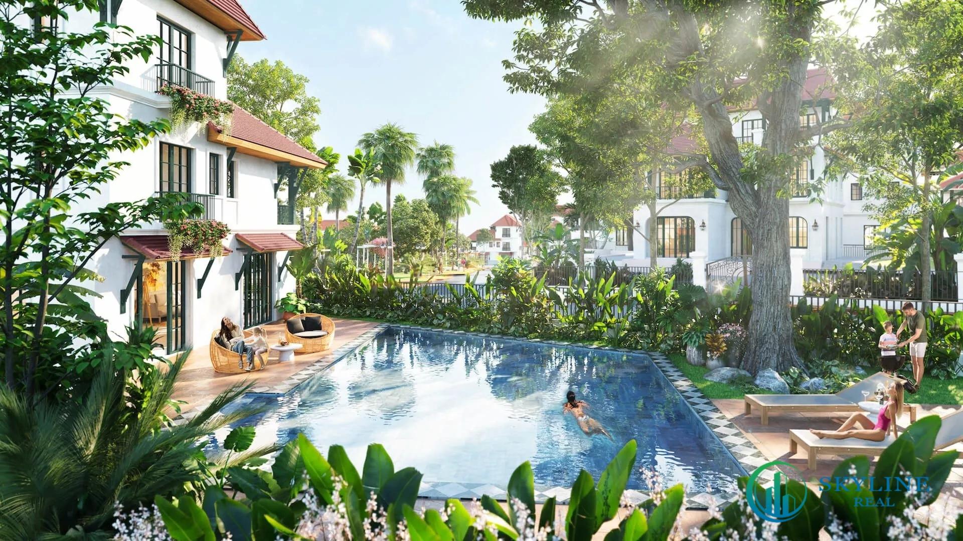 Tiện ích dự án Sun Tropical Village
