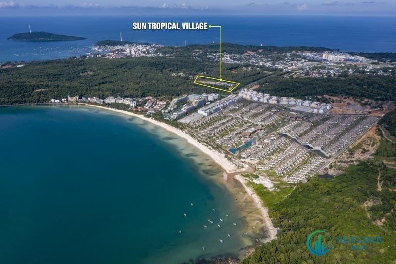 Vị trí chính xác dự án Sun Tropical Phú Quốc