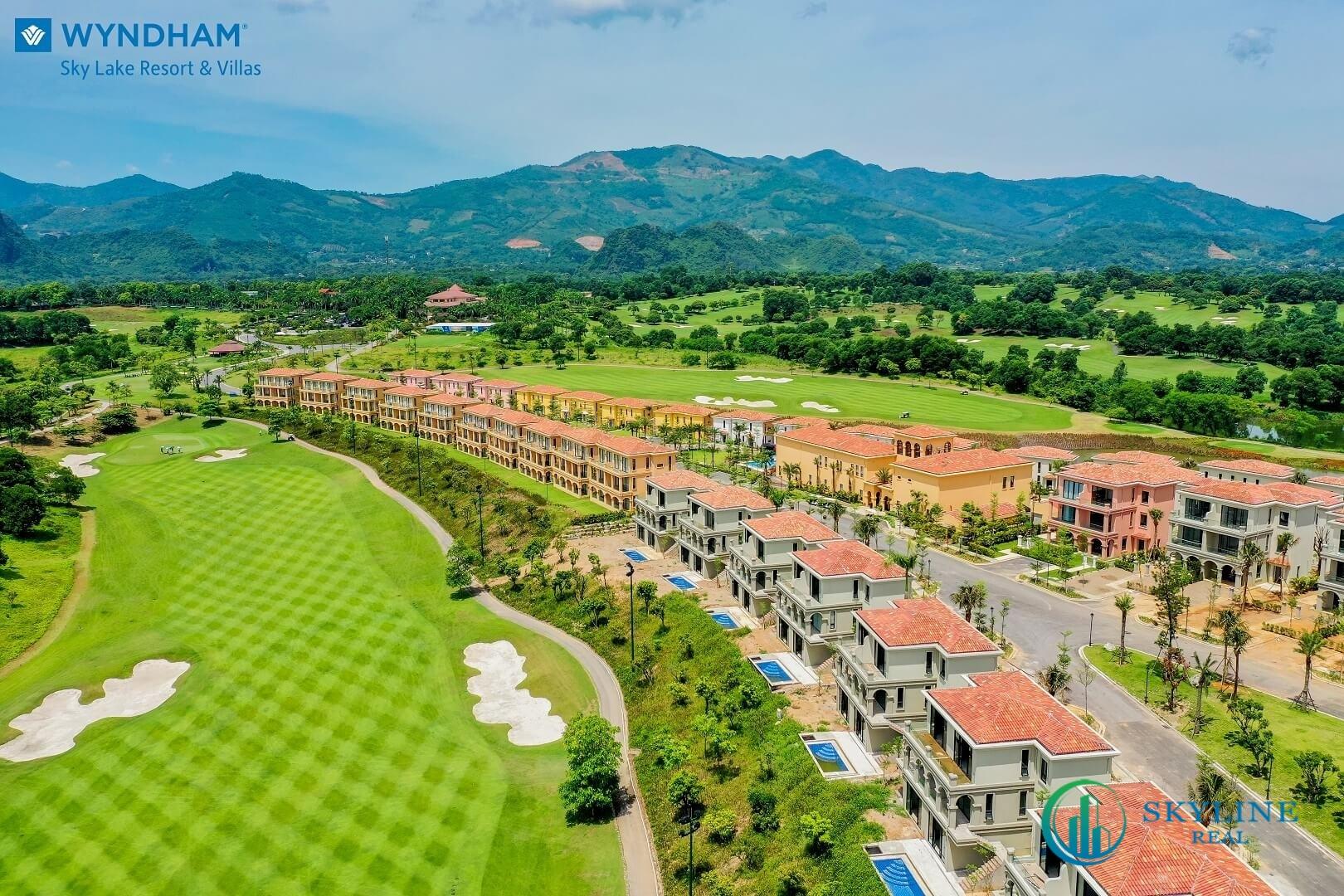 Những căn biệt thự theo phong cách Địa Trung Hải tại Wyndham Sky Lake Resort & Villas