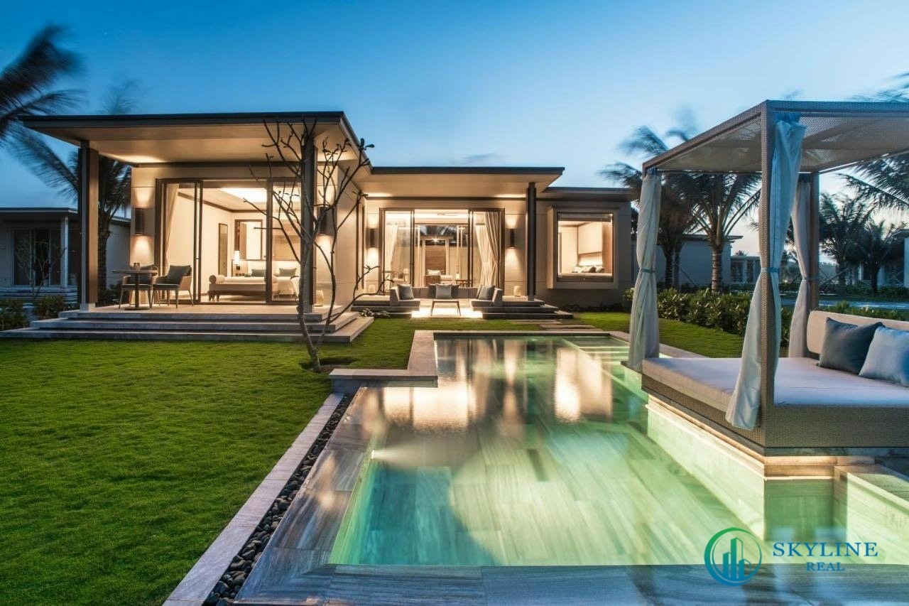 Biệt thự Maia Resort Quy Nhơn sang trọng, đẳng cấp với mảng xanh hiện hữu