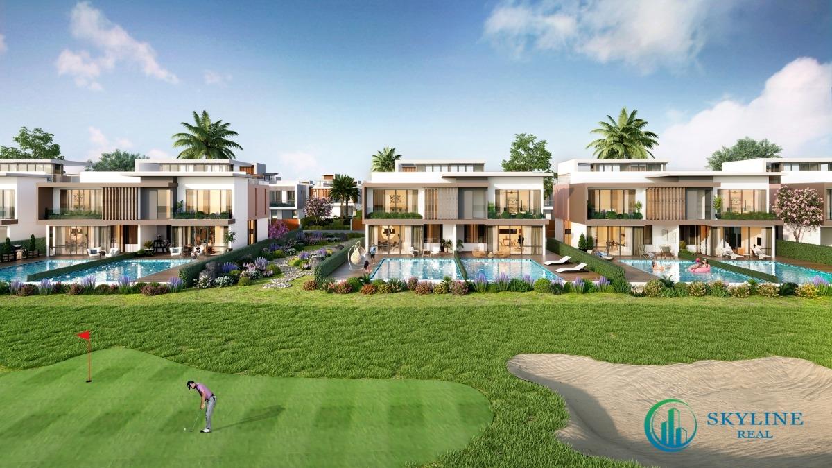Phối cảnh căn biệt thự PGA Golf Villas với thiết kế mở