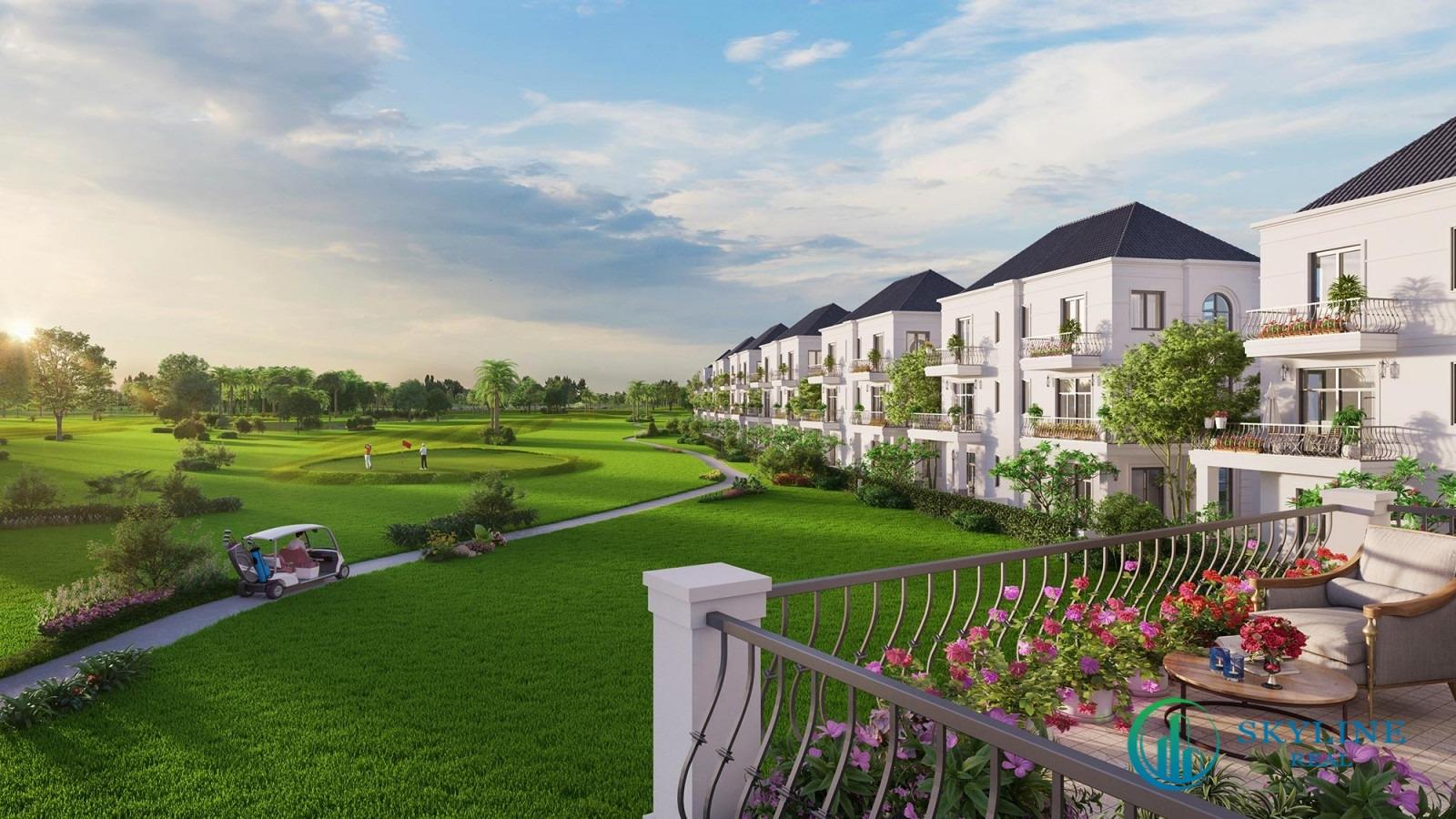 West Lake Golf & Villas kiến tạo nên không gian sống xanh lý tưởng cho cư dân