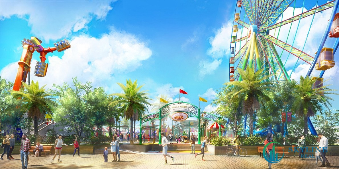 Tiện ích đòn bẩy của các khu nghỉ dưỡng – Công viên giải trí