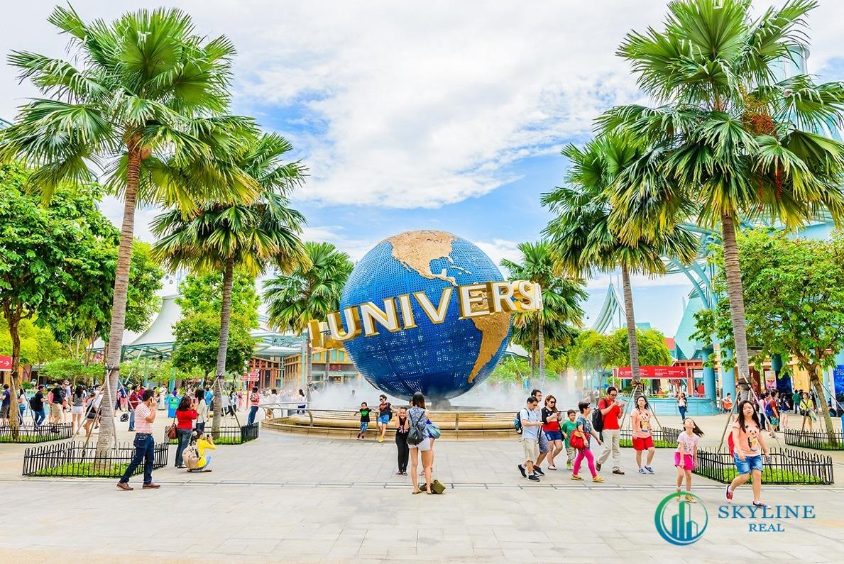 Thống kê năm 2019, Resorts World Sentosa đạt doanh thu 2,5 tỷ USD và công viên chủ đề Universal Studios thu hút đến hơn 18.000 khách/ngày