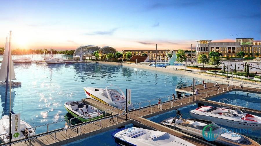 Tổ hợp Quảng trường- bến du thuyền Aqua Marina dự kiến hoàn thành cuối năm 2021