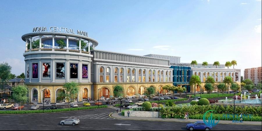Aqua Central Mall quy mô 1,4ha do Nova Retail vận hành mang đến trải nghiệm ấn tượng cho cư dân