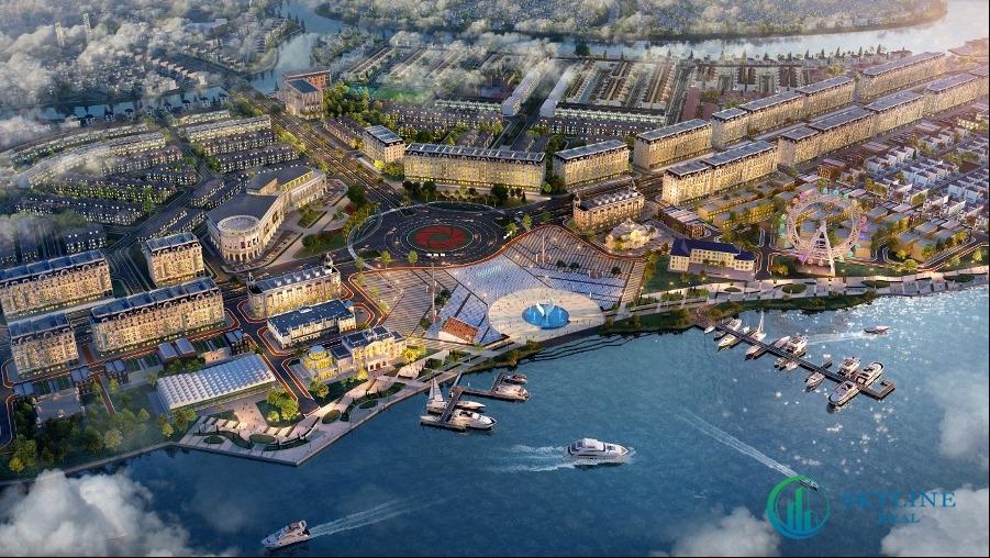 Khu đô thị sinh thái Aqua City thu hút khách hàng nhờ quy hoạch bài bản