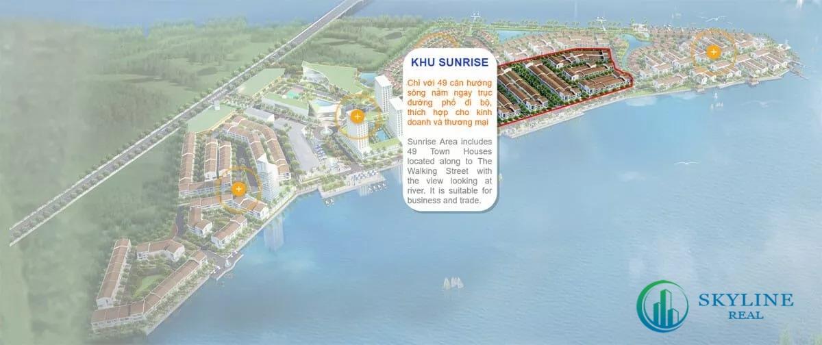Mặt bằng khu Sunrise Marine City