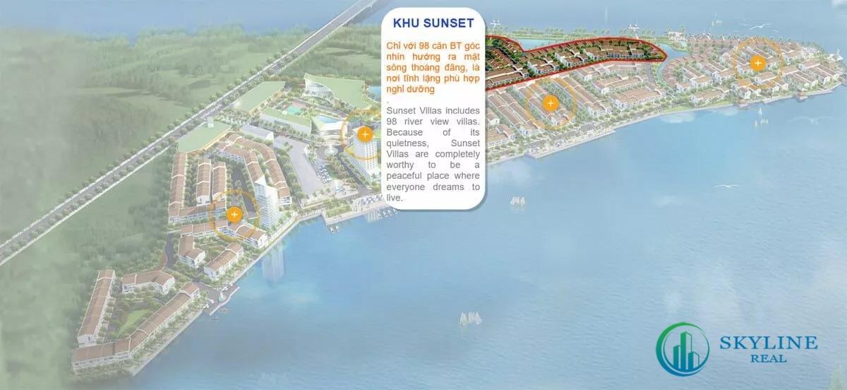 Mặt bằng khu Sunset Marine City