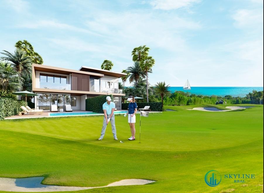 Ảnh phối cảnh PGA Golf Villas - Biệt thự Golf siêu hiếm tại Việt Nam