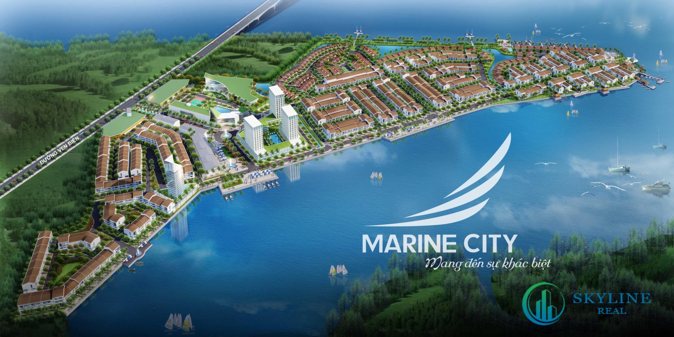 Phối cảnh dự án Marine City Vũng Tàu