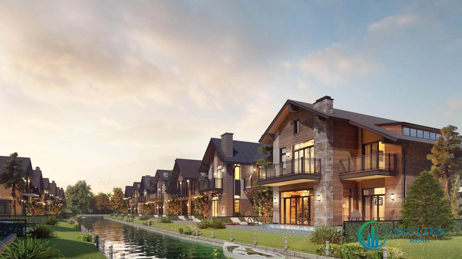 Phong cách kiến trúc Tudor là không gian sống phù hợp những chủ nhân có tâm hồn lãng mạn, yêu thích sự hoài cổ