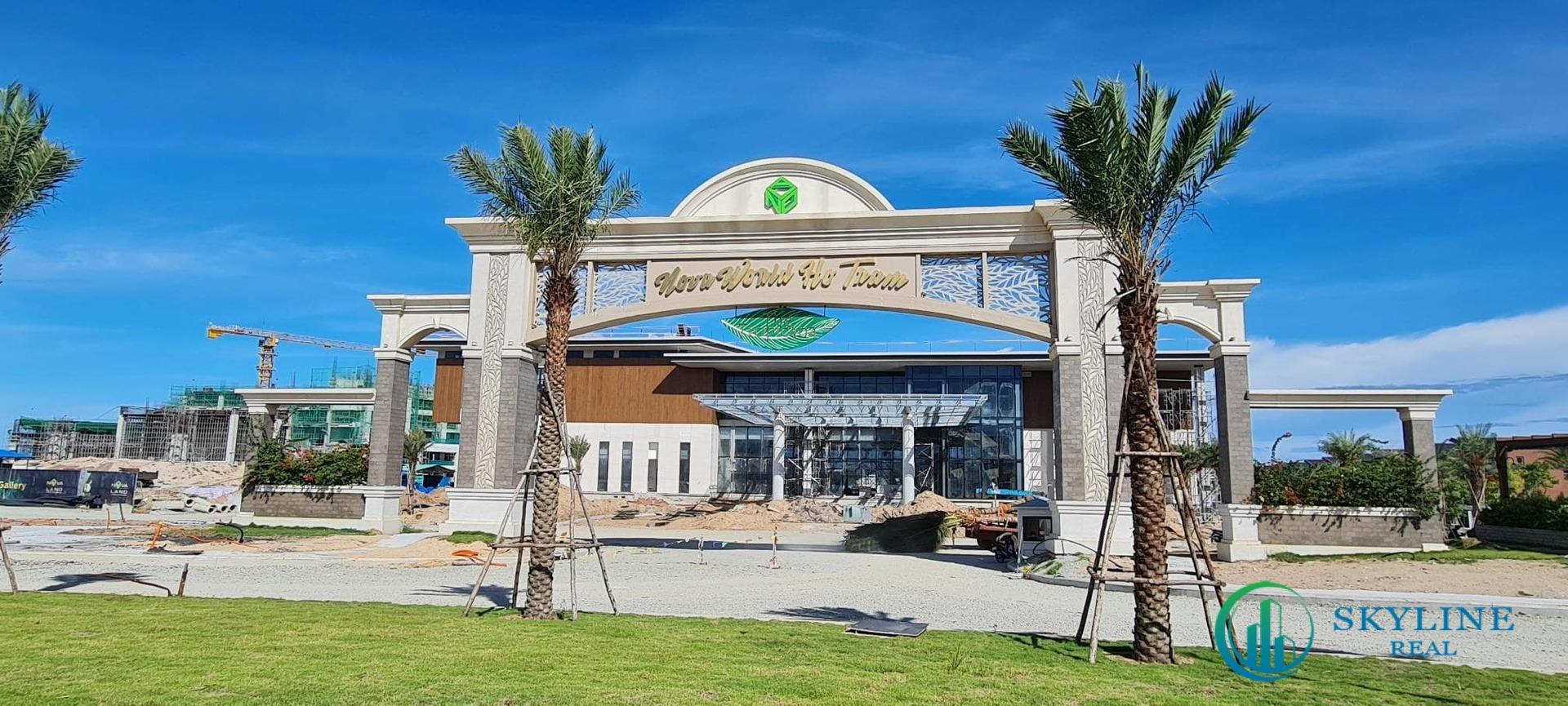 Trung tâm tiếp đón khách Welcome Center NovaWorld Hồ Tràm hướng biển dự kiến vận hành vào quý IV