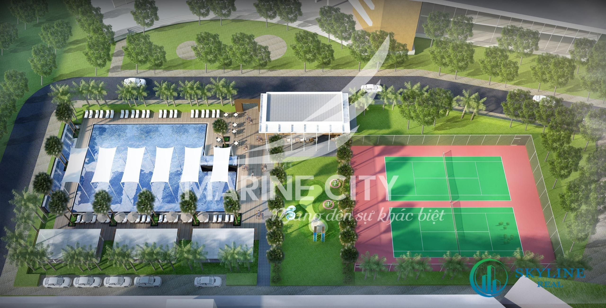 Tiện ích nội khu dự án Marine City Bà Rịa - Vũng Tàu